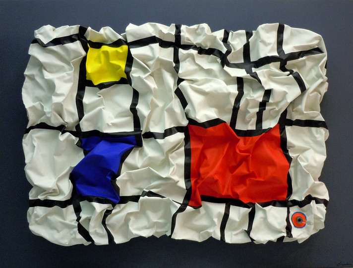 Inflatable Mondrian (hommage)