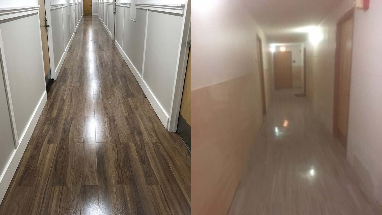 Lincoln Perry Hallway Renovation