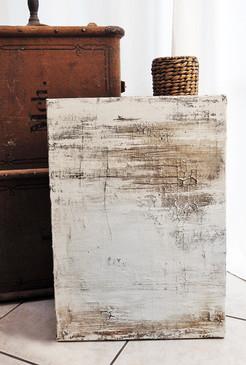 » DIETRO « / 70 x 50 cm