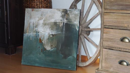 » PASSATO « / 50 x 50 cm