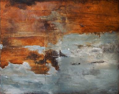 » VIGOROSO « / 80 x 100 cm