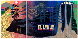 Island Studio Triptych