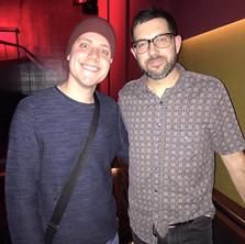 Carles with Mark Giuliana