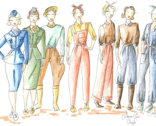 Design Damen Chor Marktgesellschaft