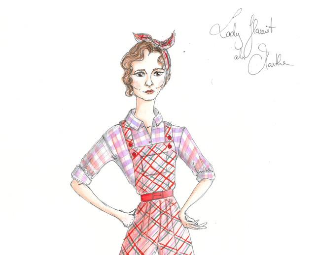 Design Lady Harriett als Martha