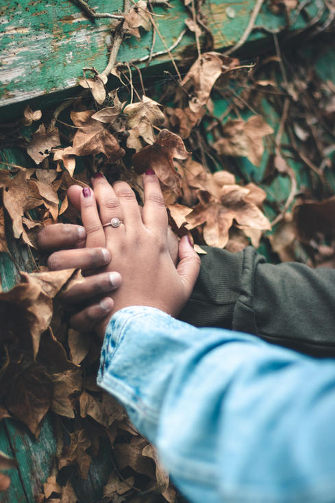 Kipling Gardens Engagement Photography
