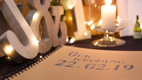 Wedding Reception Decor Photography