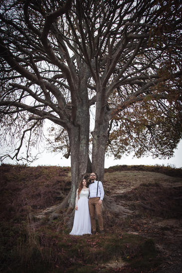 Natural Scenic Wedding Photography