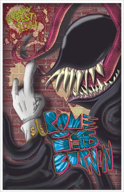 Rome i$ Burnin Poster
