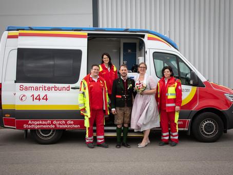 Wir gratulieren unserem Kollegen Andreas Fronz zu seiner Hochzeit!