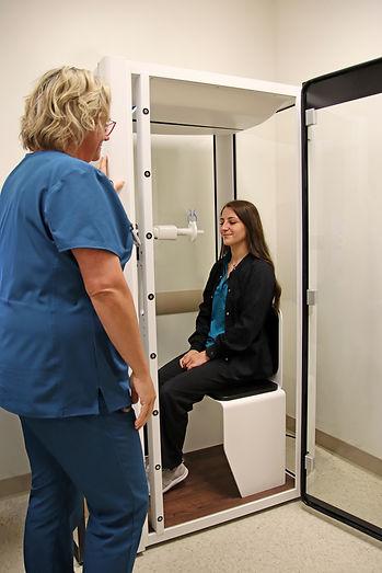 Image of PFT patient