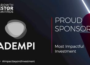 Adempi sponsors Growth Investor Awards 2020