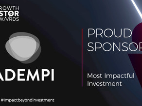 Adempi sponsors Growth Investor Awards 2020