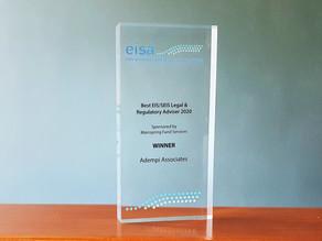 Adempi wins Best Regulatory or Legal Adviser