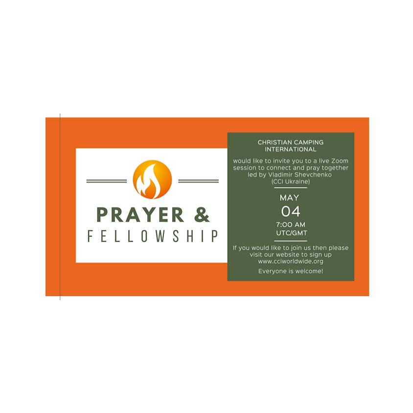 Prayer & Fellowship 04 May 2021 led by Vladimir Shevchenko