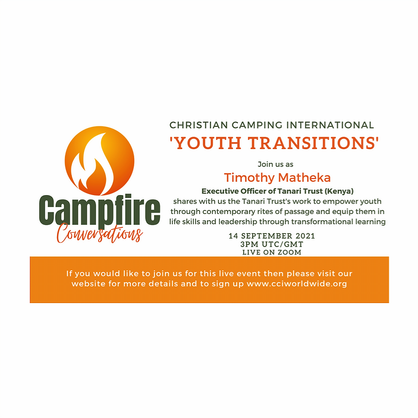 Campfire Conversations 14 September 2021 - Youth Transitions