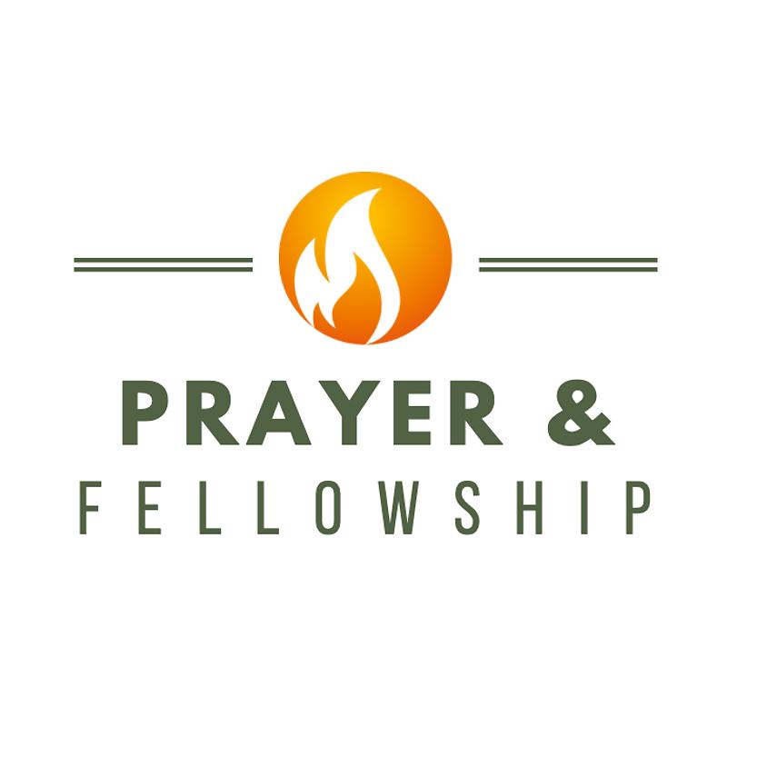 Prayer and Fellowship September 2020 led by Sharon Fraess (Canada)
