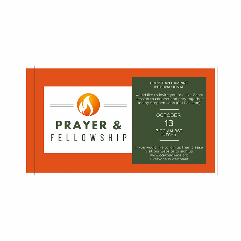 Prayer and Fellowship 13 October 2020 led by Stephen John