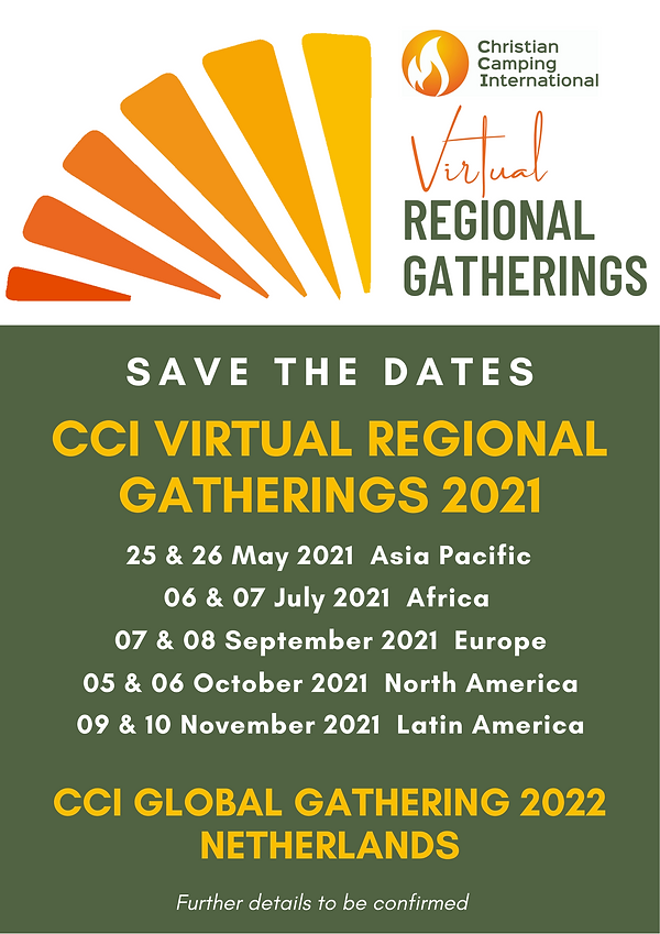 Regional Gatherings program flyer high q