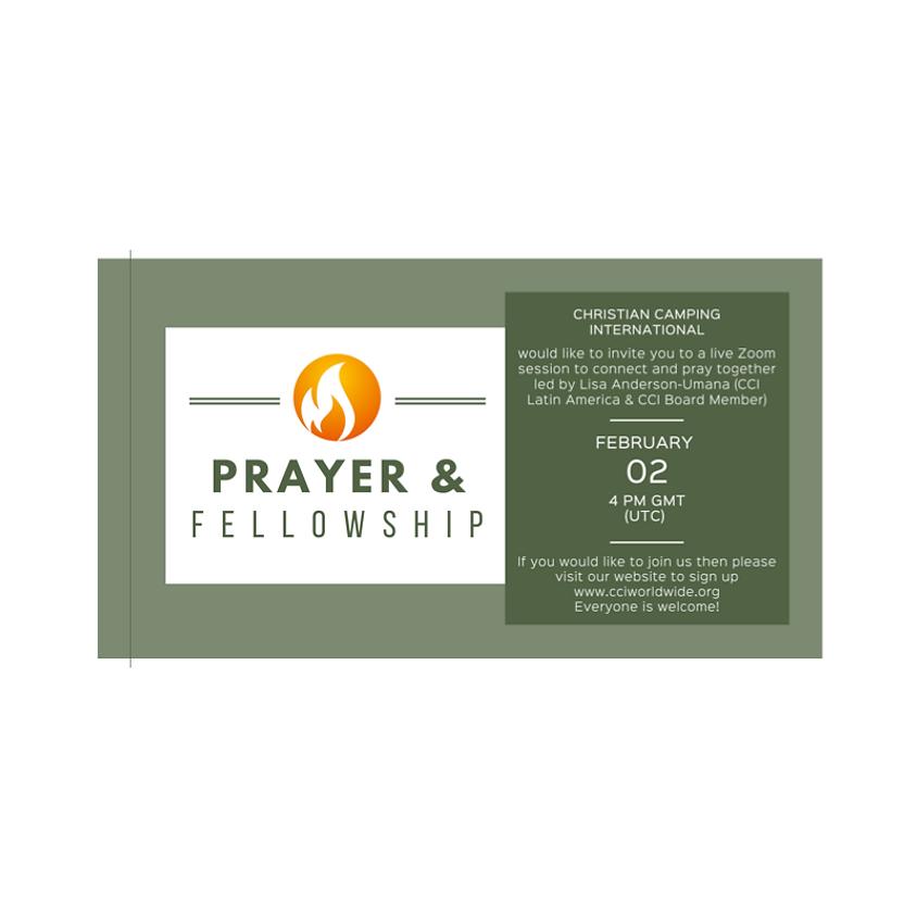 Prayer and Fellowship 02 Feb 2021 led by Lisa Anderson-Umana