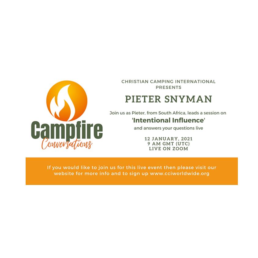 Campfire Conversations 12 Jan 2021 with Pieter Snyman