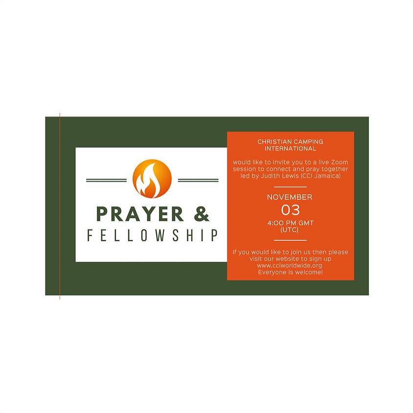 Prayer and Fellowship 03 November 2020 led by Judith Lewis