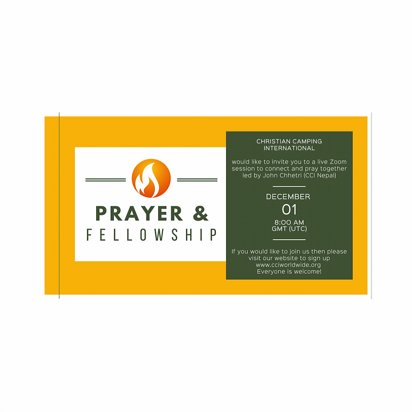 Prayer and Fellowship 01 December 2020 led by John Chhetri