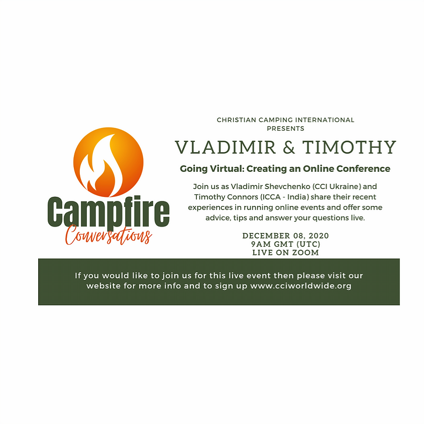 Campfire Conversations 08 Dec 2020 with Vladimir and Timothy