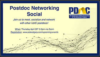 Poster for April 2021 networking event.p