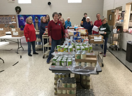 2018 Christmas Baskets - By: Board of Outreach