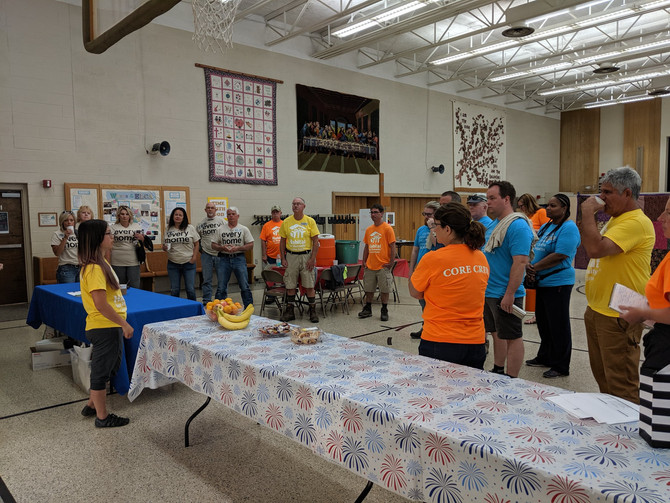 """Looking Back With Gratitude on """"Rock the Block"""" in Baker Neighborhood - by Rose Palmiter"""