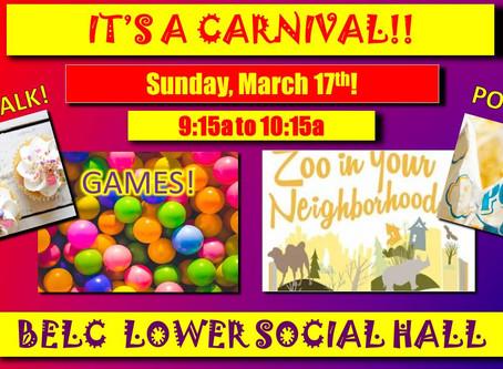 Sunday School Carnival - 2019 - By: Laurey Wyble
