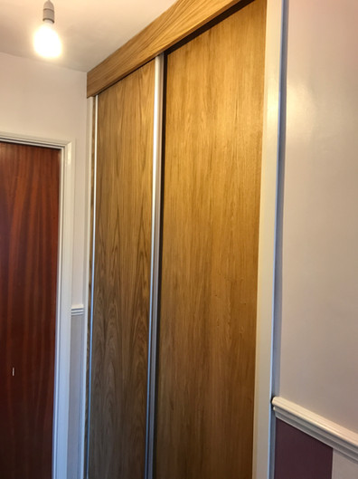 Oak & Aluminium trim