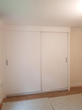 Two door sliding wardrobe