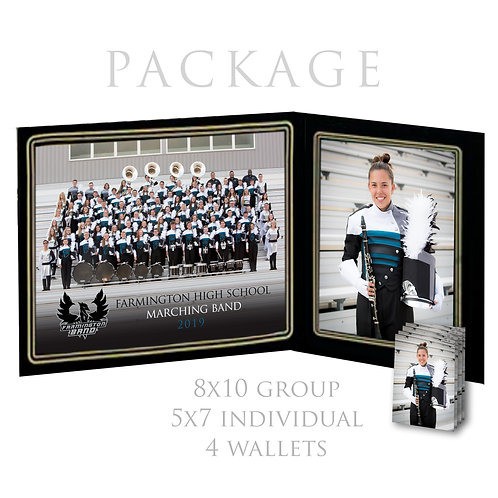 FHS Photo Package - 8x10 group, 5x7 + 4 wallets individual