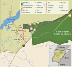 Mapa Portal Uguay