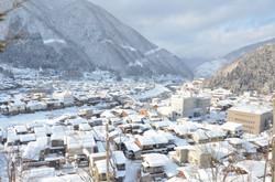 神岡の雪景色