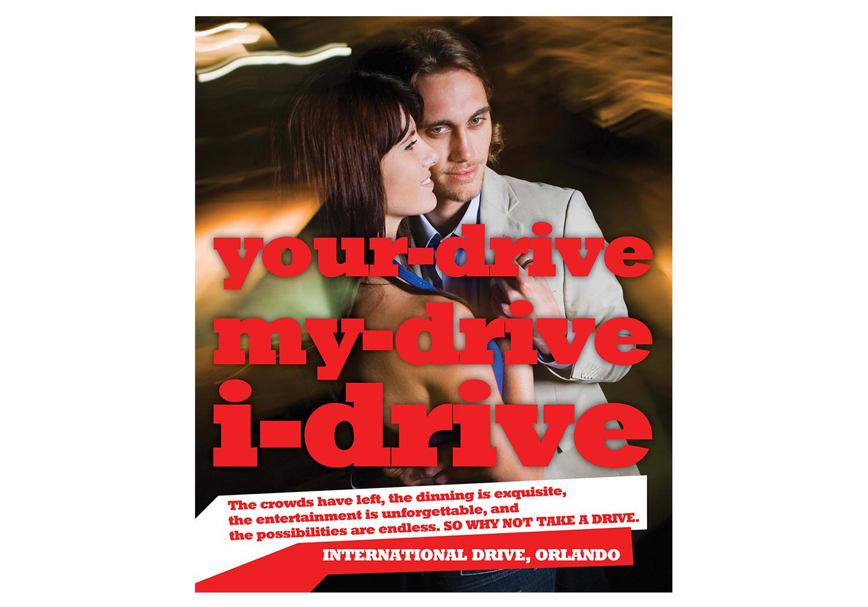 I Drive Ad Campaign
