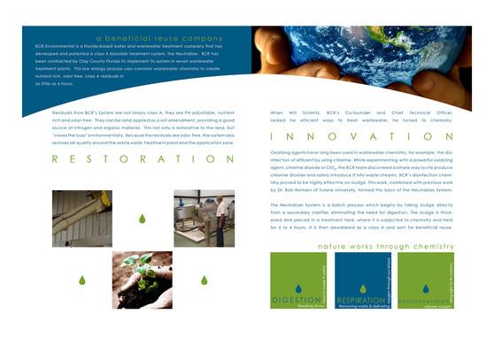 BCR Service Brochure