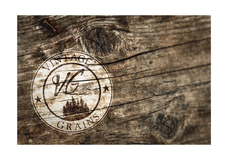 Vintage Grains Branding Concept