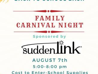 Family Carnival Night at the Cedar Mountain Club