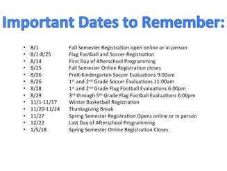 Riverside and Benton Teen Club Dates To Know!