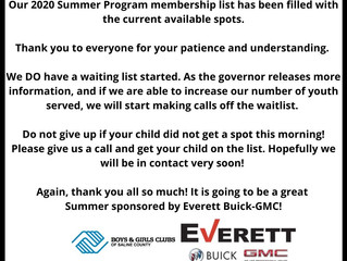 SUMMER IMPORTANT INFO