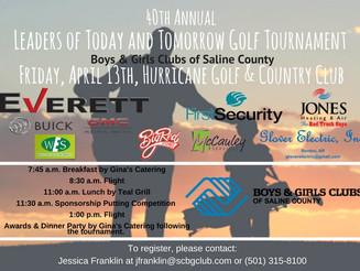 Golf Tournament Rescheduled!!!