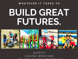 Whatever It Takes To Build Great Futures