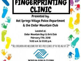 CMC Fingerprinting Clinic