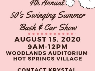 4th Annual 50's Swinging Summer Bash & Car Show