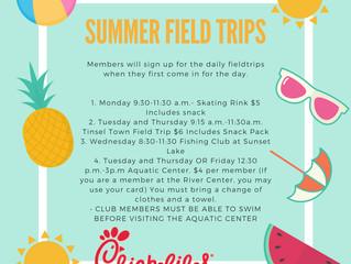 Summer Field Trip Fun