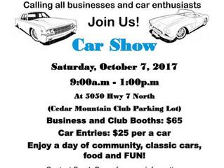 Cedar Mountain Boys & Girls Club 1st Annual Car Show