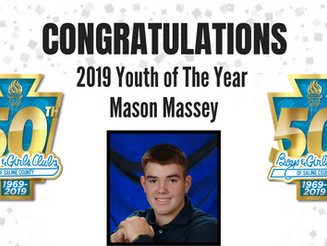 Meet Our 2019 Youth of The Year